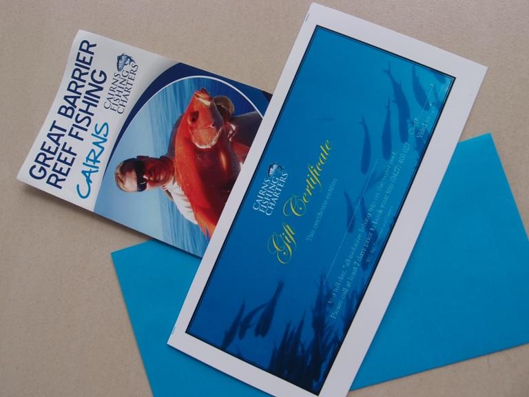 Fishing gift vouchers Cairns